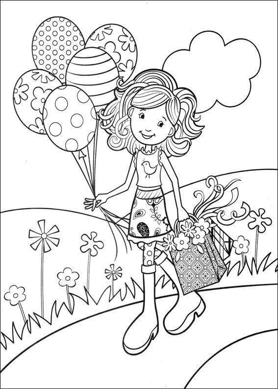 Coloriage Dessins. Groovy Girls 17
