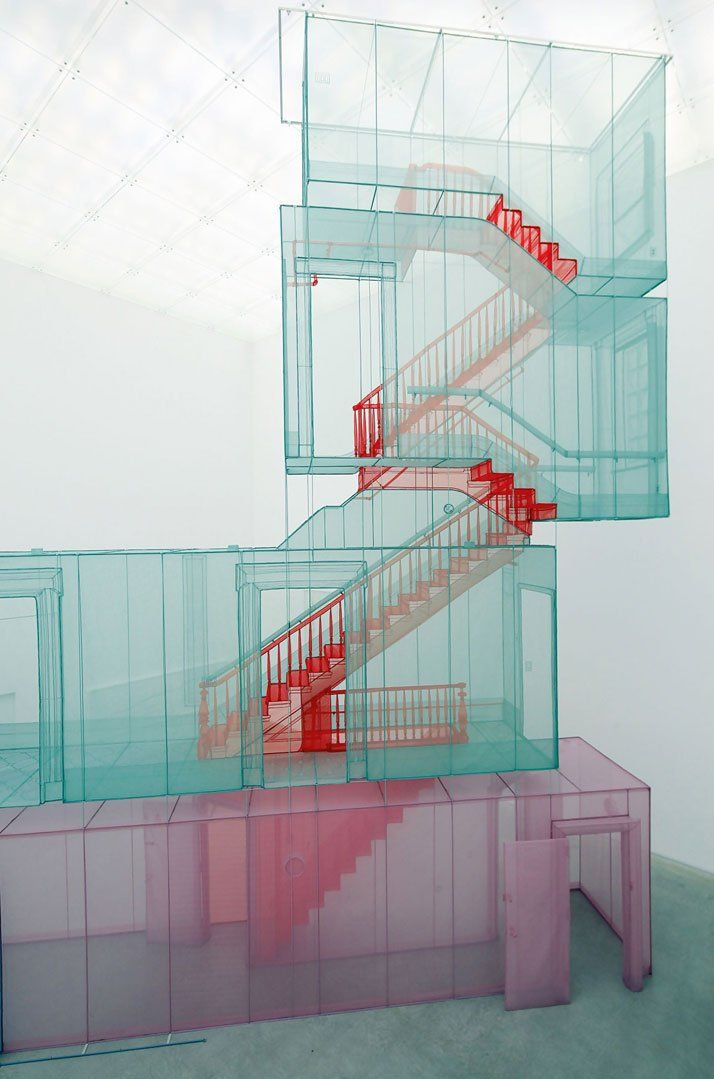 Do Ho Suh, Perfect Home   http://www.yellowtrace.com.au/2013/10/30/do-ho-suh-polyester-sculptures/