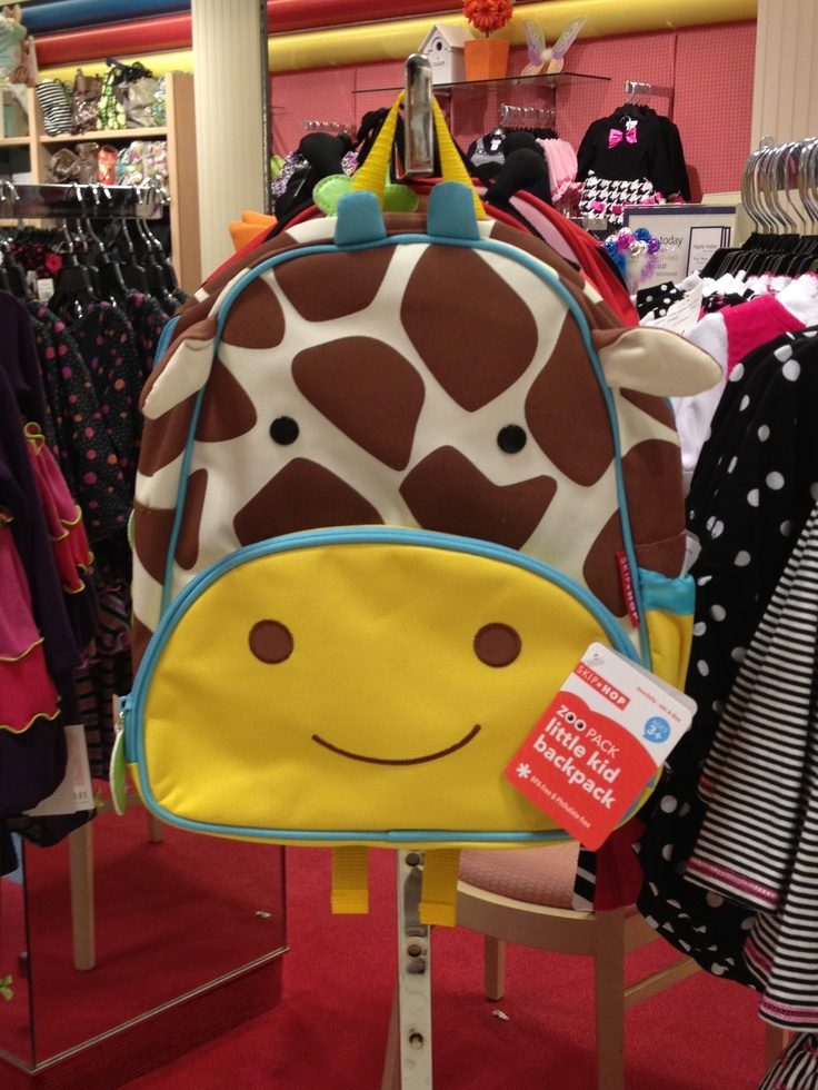 @Megan Reese Giraffe Backpack by Skip Hop Kids Backpack Giraffe Skip_Hop
