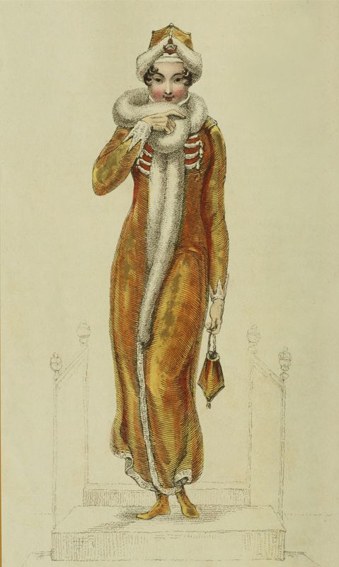 1811, Feburary, Ackermann Fashion Plate
