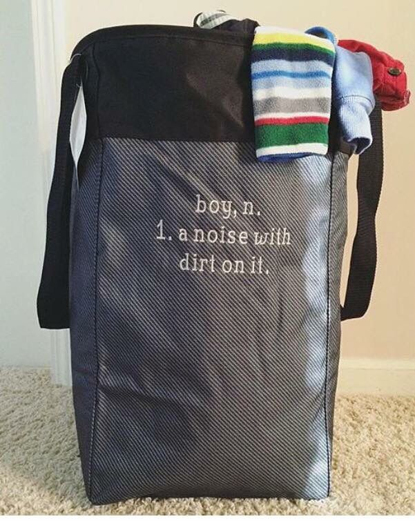The perfect Baby Shower Gift... Our Stand Tall Bin by Thirty-One! Fill with goodies and gifts for the baby. Something they can use forever! www.thebagdealer.com