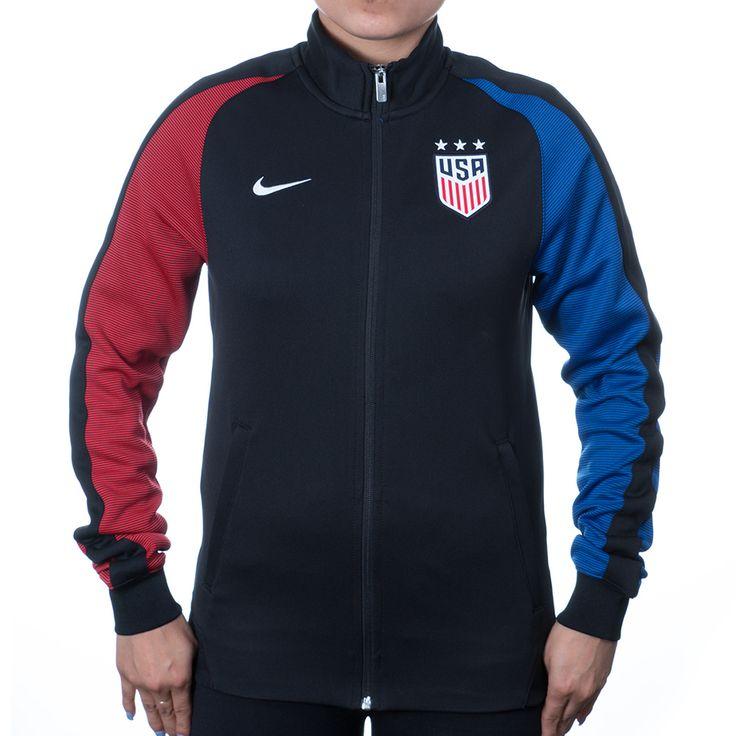 Women's Nike USA Auth N98 Track Jacket - Black