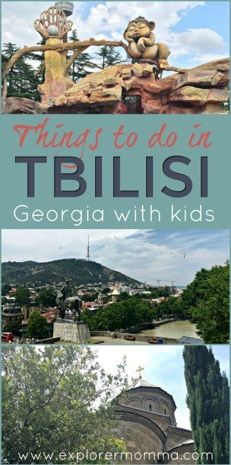 Tbilisi's on so many lists of places to visit in 2018! Along the Silk Road, it's a city of east meets west, and I love it. There are so many things to do in Tbilisi from medieval sites, to amusement parks, to amazing restaurants. Plan your family trip today...or just enjoy our suggestions! #tbilisi #travelwithkids #familytravel