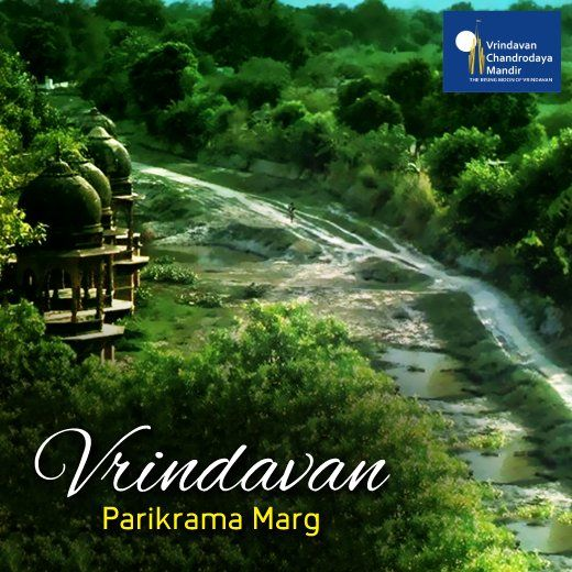 By engaging in Parikrama of Vrindavan, one circumambulates over 5,000 temples. Have you ever gone on a Parikrama?