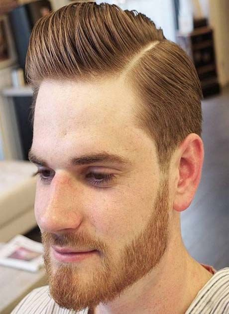 Pompadour Hairstyle for Men 2018