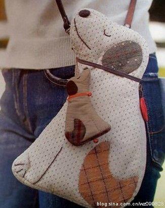 Varrogató: Táska-pénztárca kutya-macska