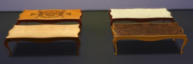 Mod The Sims - TS2 to TS4 - Coffee Tables