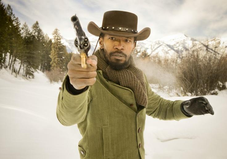 Django (Jamie Foxx) Django Unchained (2012) Written/Directed by Quentin Tarantino