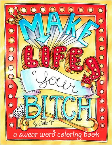 147 best swear words images on Pinterest | Coloring books ...
