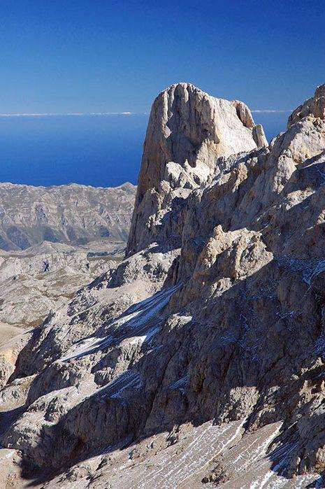 paisaje de alta montaña