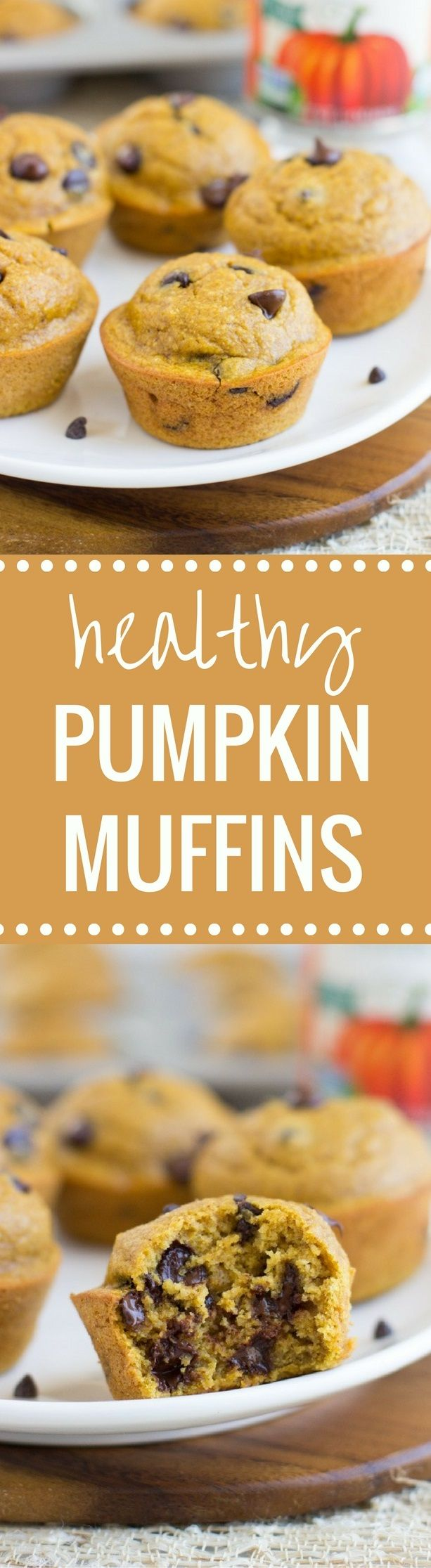 Healthy Flourless Pumpkin Muffins are moist, delicious, and super easy to make. Naturally gluten-free, oil-free, dairy-free, and refined sugar-free!