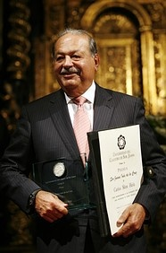 The Riches Man in the world ,  Carlos Slim Helu -Mexico  Carlos Slim Helu retains the title of world's richest man for the third year in a row despite a fortune that's $5 billion smaller than a year ago-primarily ­because of a lower share price for telecom giant America Movil. 2013