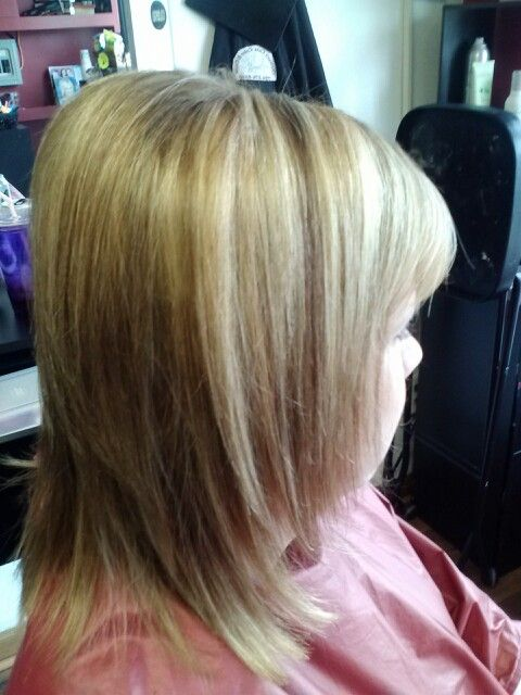 Blonde Hair With Caramel Lowlights 18