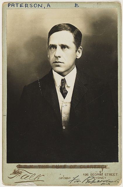 Andrew Barton (Banjo) Paterson, poet, solicitor, journalist, war correspondent and soldier, c1890