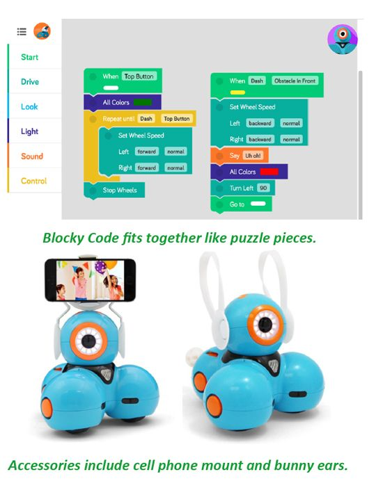Curriculum for Dash and Dot