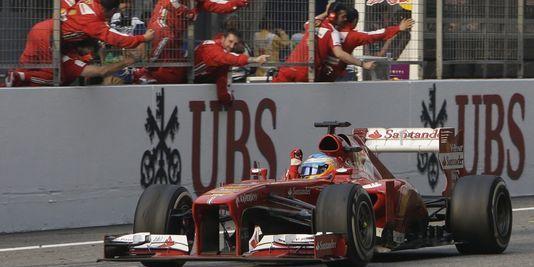 F1 : Fernando Alonso gagne le Grand Prix de Chine