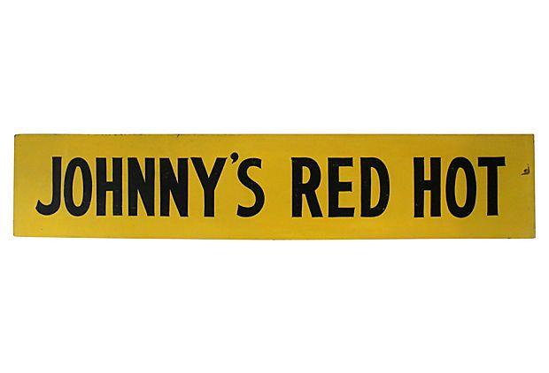 Johnny's Red Hot on OneKingsLane.com