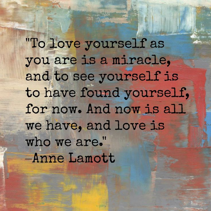 Excellent quote by Anne Lamott