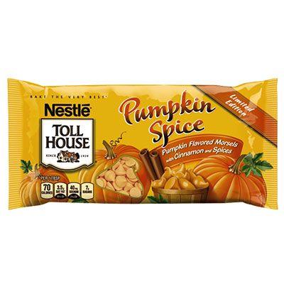 NESTLÉ® TOLL HOUSE® Pumpkin Spice Morsels