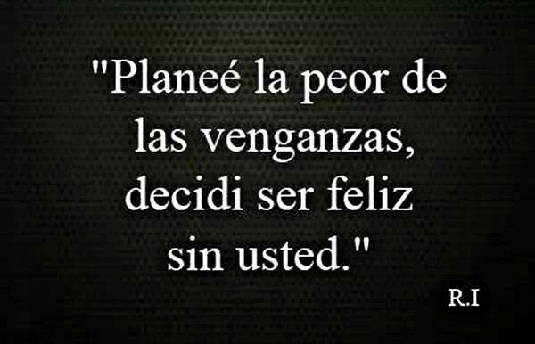 Sin usted.
