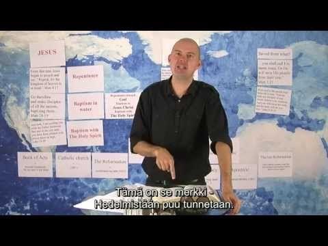 """Torben Søndergaard: """"Tehkää parannus ja ottakaa kaste"""" (Pioneerikoulu, osa 7) - YouTube"""