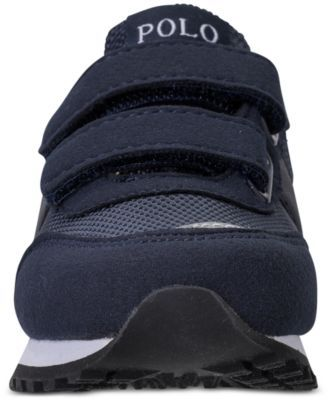 Polo Ralph Lauren Little Boys' Zaton Casual Sneakers from Finish Line - NAVY 1.5