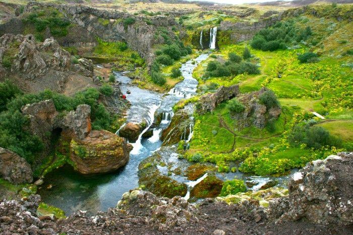 The Magical Land Of Gjáin, Iceland | Unlocking Kiki