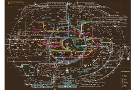 Five Cool Mass Transit Maps From Around the World - Speakeasy - WSJ