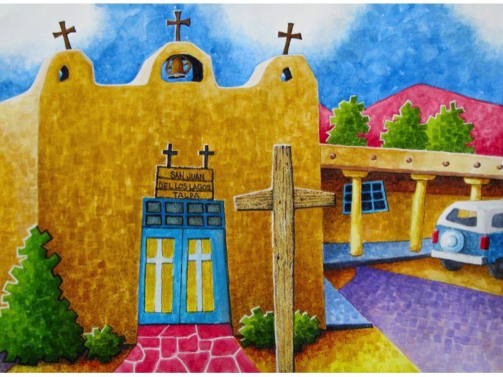New Mexico Artist robert Yackel