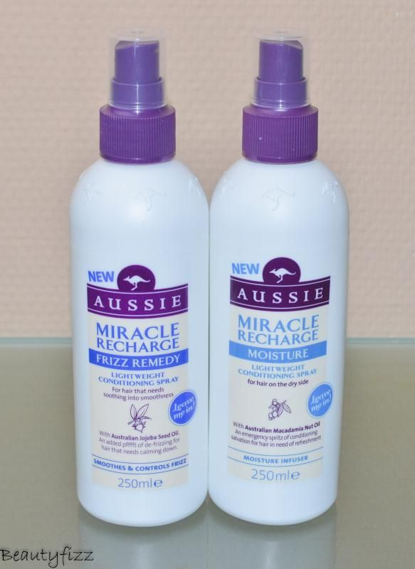 Aussie miracle recharge frizz remedy & moisture |