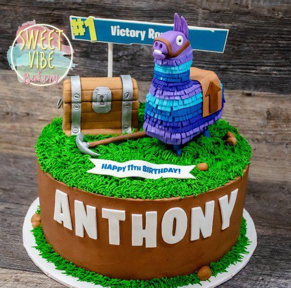 Fortnite Cake Decorations Edible Fondant Toppers