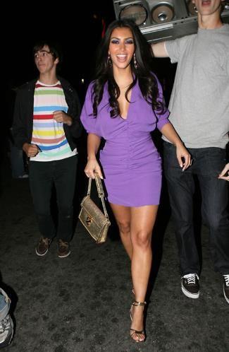 kim kardashian valentine's day dress