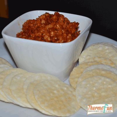 Post image for ThermoFun – Sweet Chilli with Cashew & Parmesan Chunky Dip Recipe