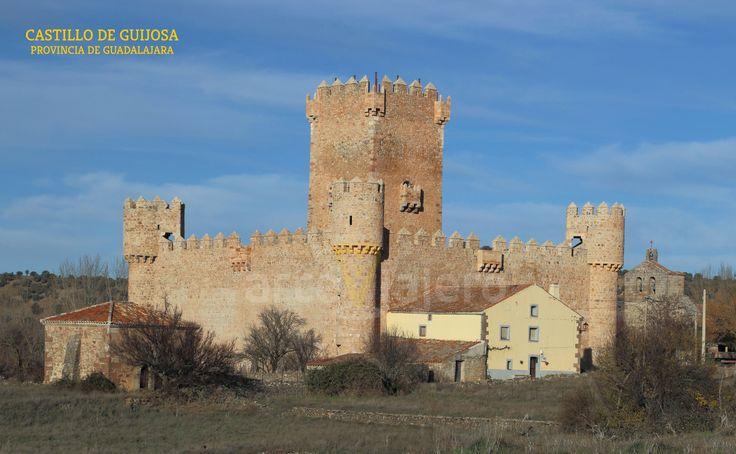 Castillo de #Guijosa , provincia de #Guadalajara #castillos