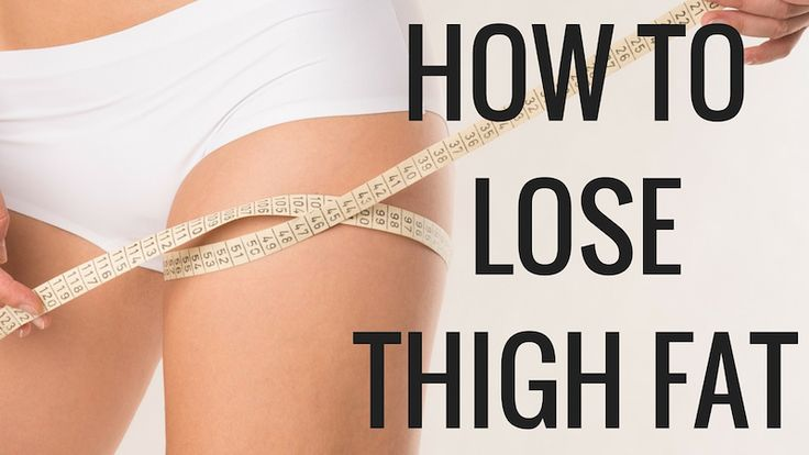 Learn How to Lose Thigh Fat from Christina Carlyle and get a Thigh-Slimming Workout that's perfect for women who want to lose thigh fat.