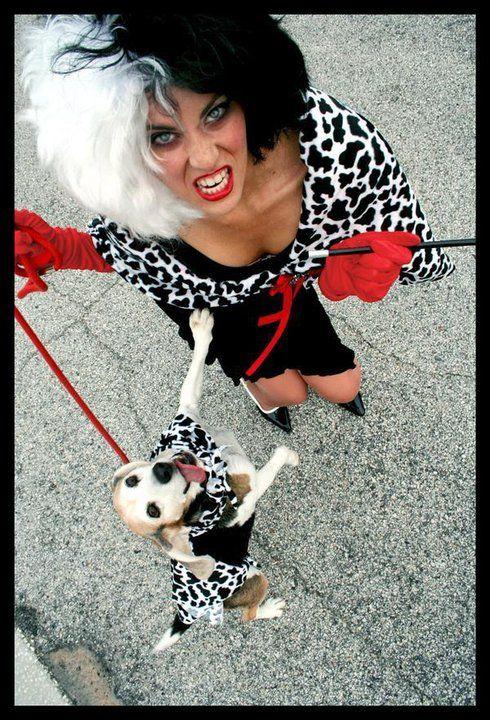 Awesome Cruella Deville Cosplay