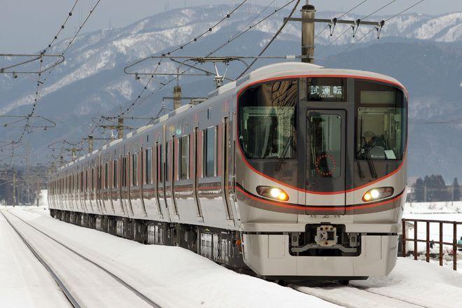 【JR西】323系LS06編成 湖西線試運転