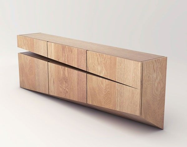 Sideboard concept by natalia wieteska an interior and furniture designer by pozna poland Show home furniture hours