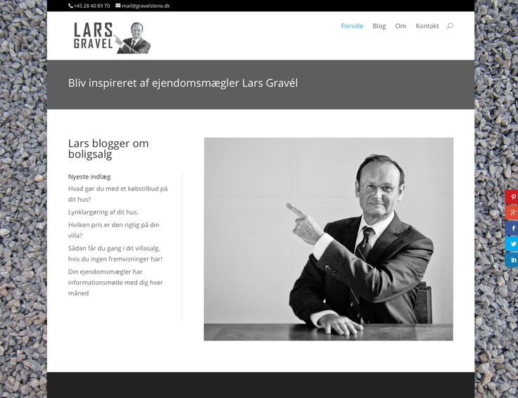 Ejendomsmægler Lars Gravel