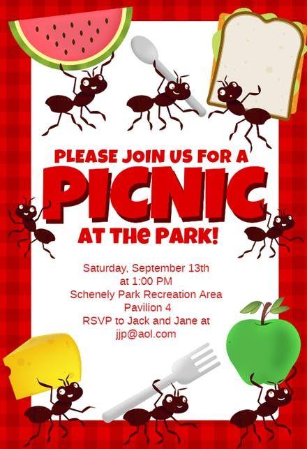 The 25+ best Picnic invitations ideas on Pinterest Picnic theme - picnic invitation template