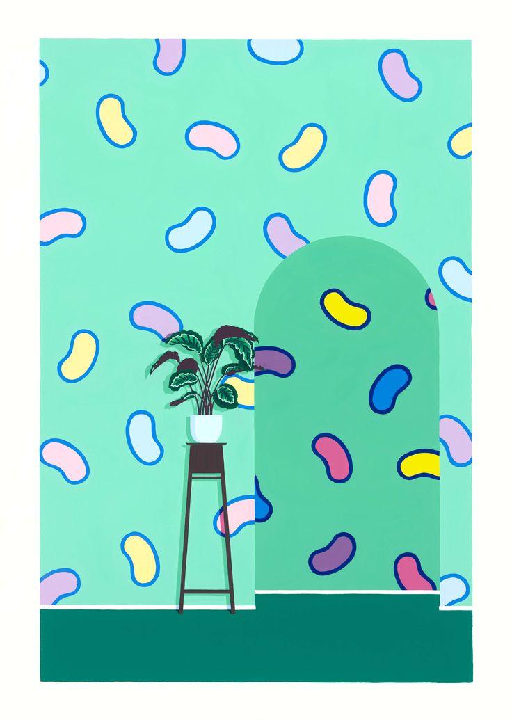 The Green Room - Laura Walker | www.laurawalker.co.nz