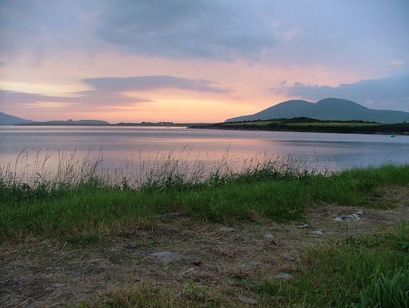 Sunset, Mannix Point Caravan Site,Cahircineen,Co.Kerry. Magical!