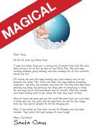 Looking for the perfect Christmas Eve Letter from Santa? Our Sleepy Santa will delight you!