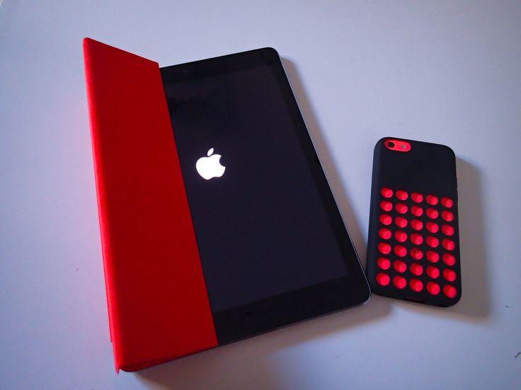 La mia nuova iPad air e la mia iPhone