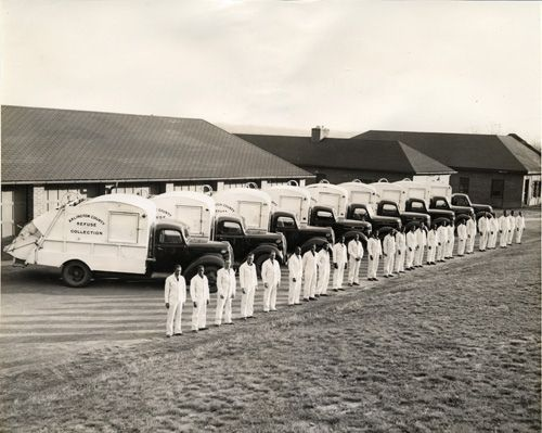 Arlington County Refuse Collection, ca. 1940 | Arlington Cou… | Flickr