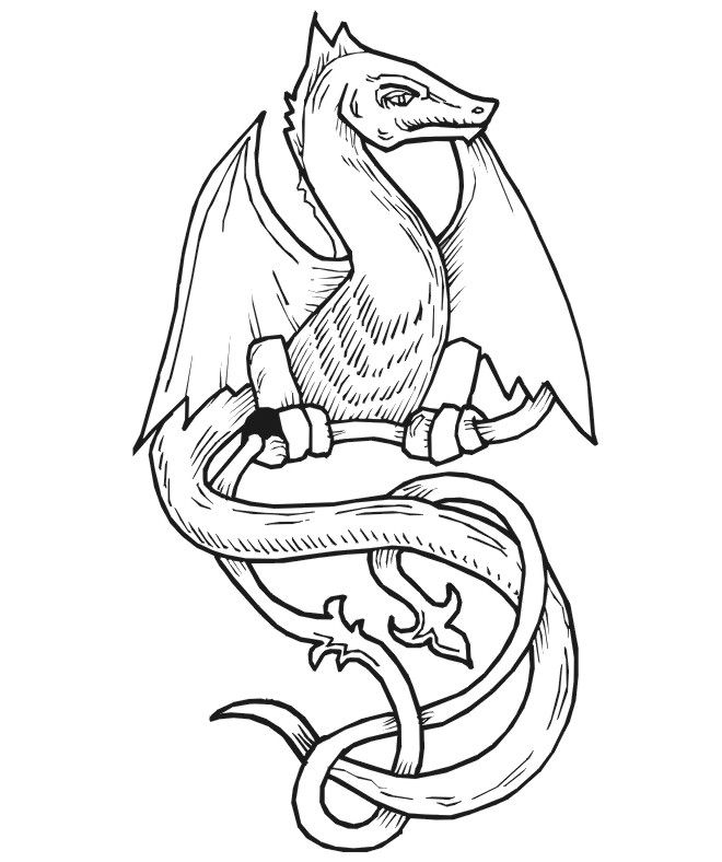 268 best Dragons images on Pinterest | Coloring pages, Coloring ...