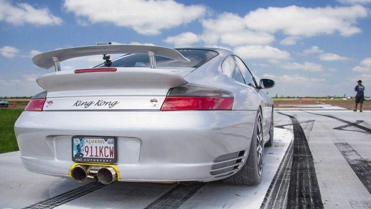 KING KONG 1300hp TT Porsche - Spinout @ 180MPH!!!