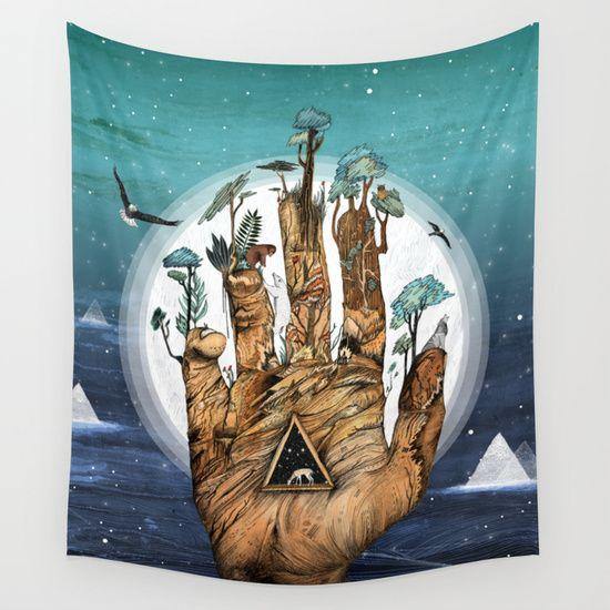 Stargate+Wall+Tapestry+by+Sandra+Dieckmann+-+$39.00