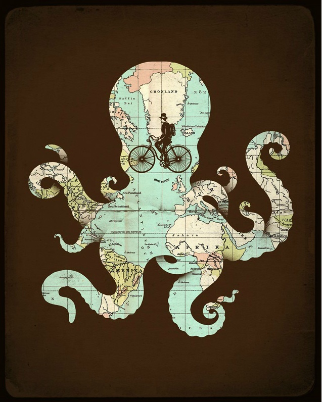 Into a octopuss