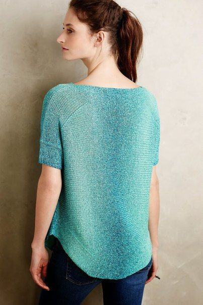 1000+ images about Knitted short sleeve pullover on ...